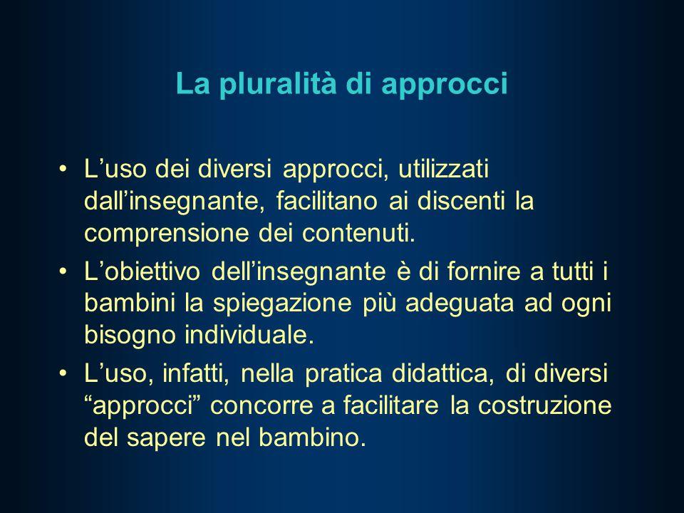 La pluralità di approcci