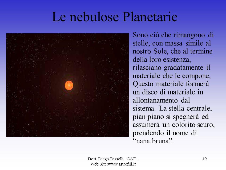Le nebulose Planetarie