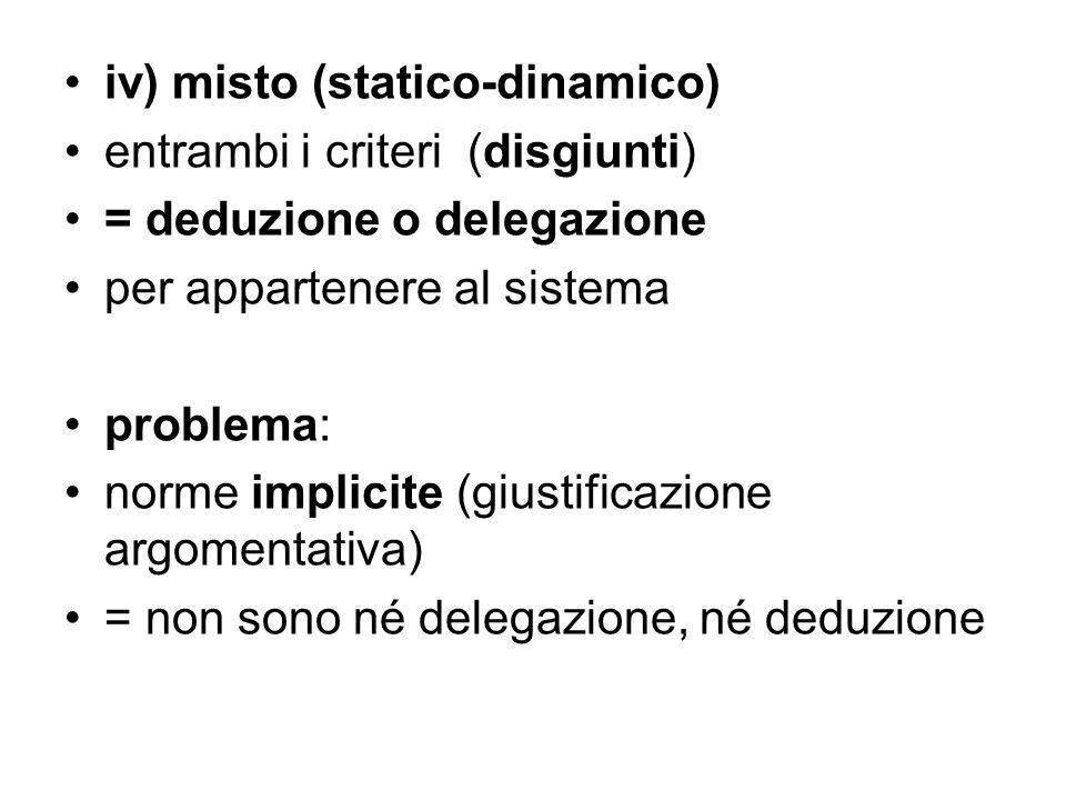 iv) misto (statico-dinamico)