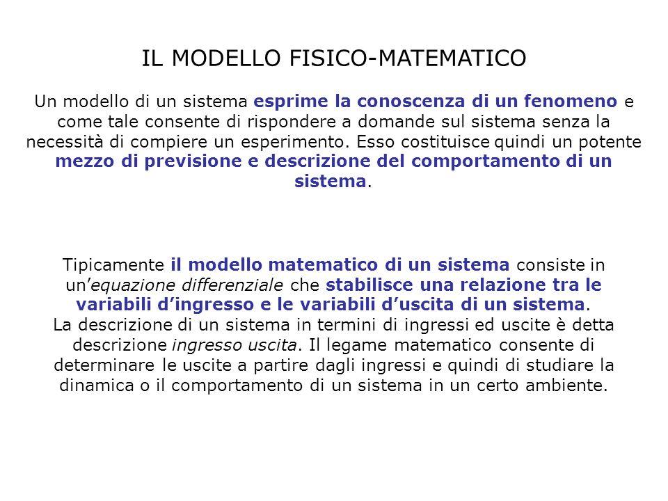 IL MODELLO FISICO-MATEMATICO