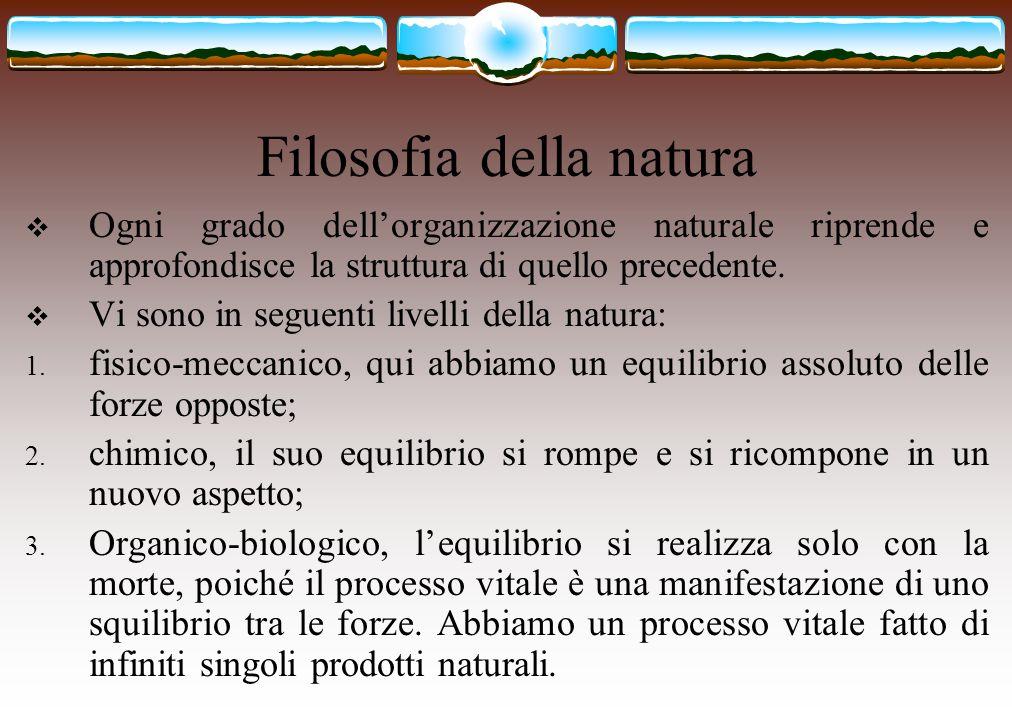 Filosofia della natura