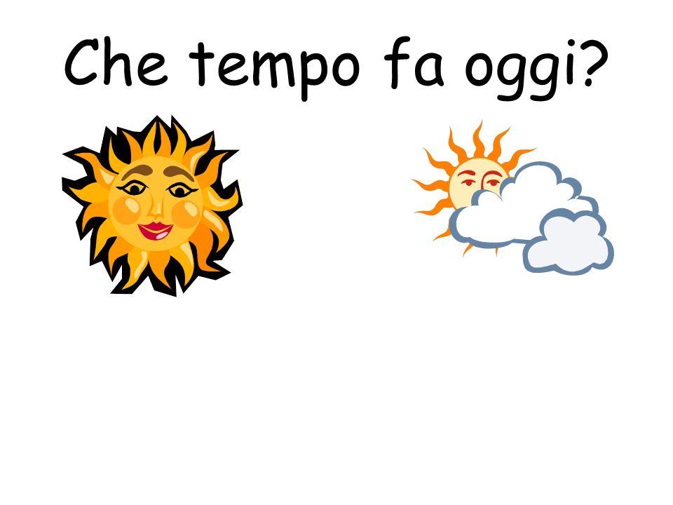 Che tempo fa oggi