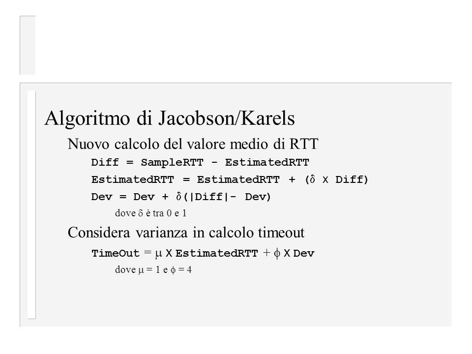 Algoritmo di Jacobson/Karels