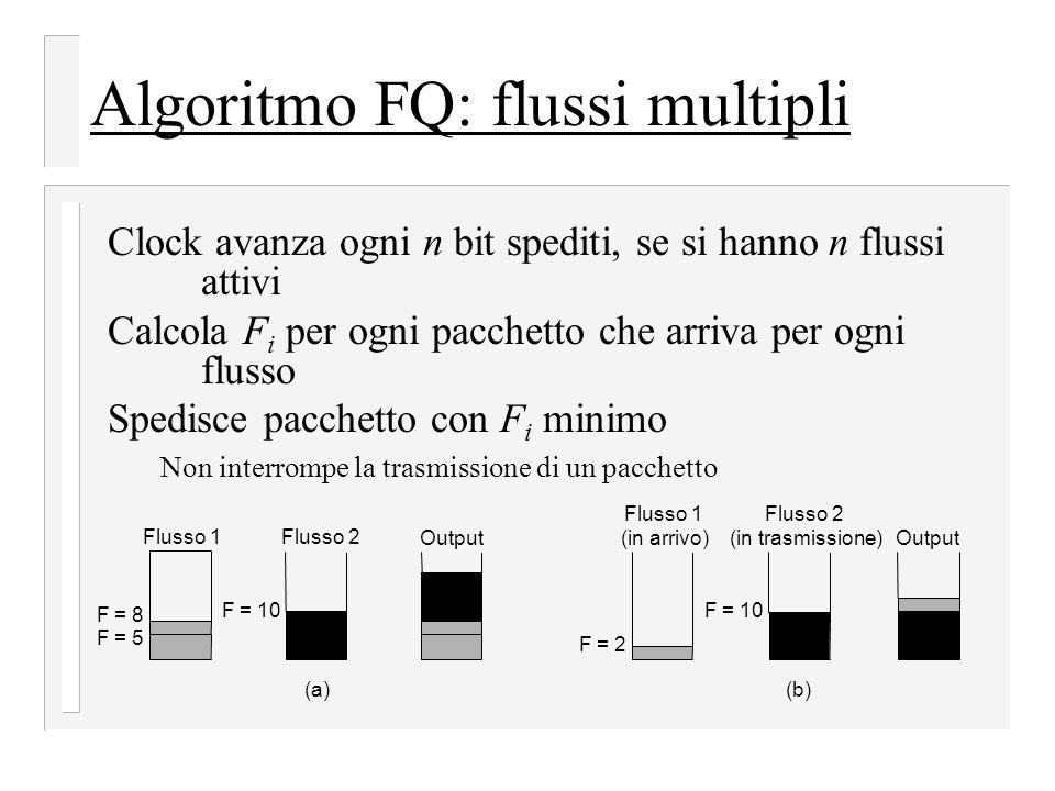 Algoritmo FQ: flussi multipli