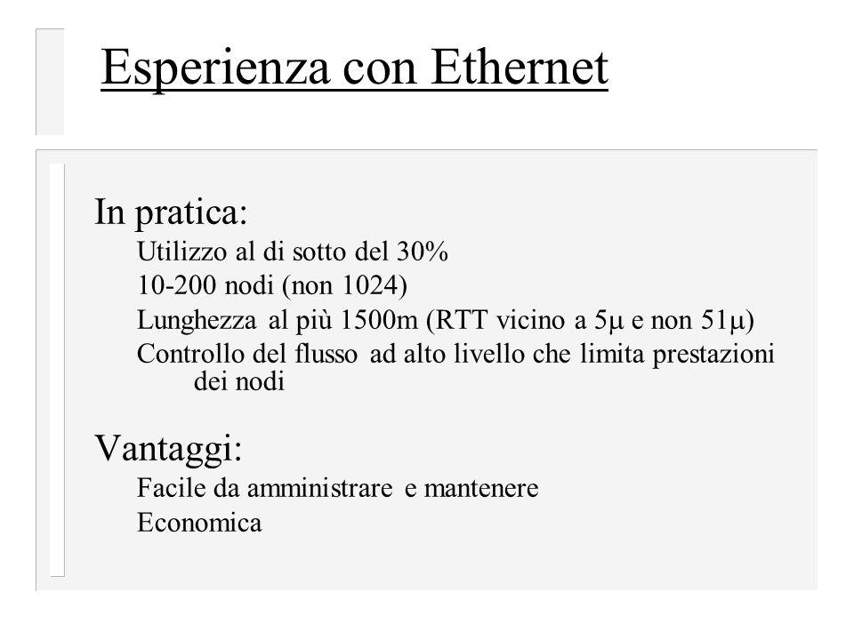 Esperienza con Ethernet