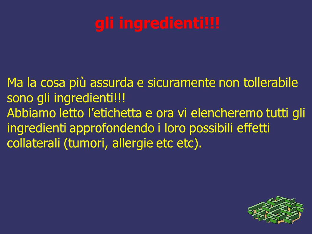 gli ingredienti!!!