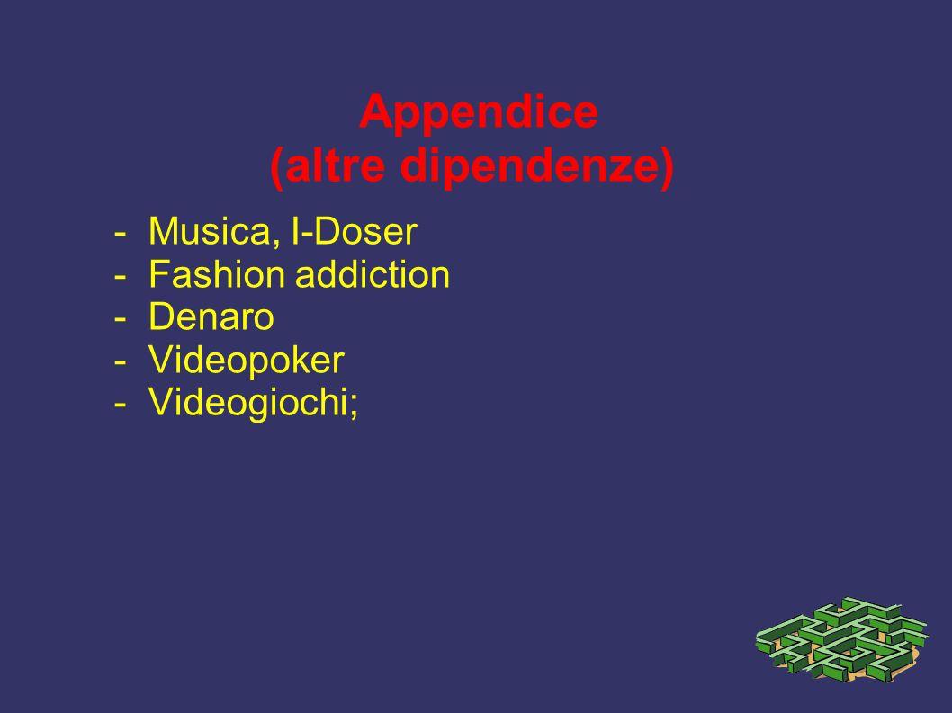 Appendice (altre dipendenze)
