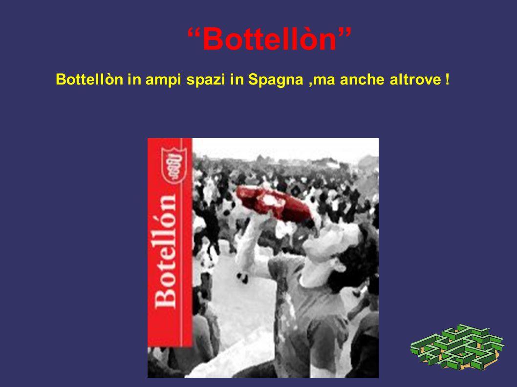 Bottellòn Bottellòn in ampi spazi in Spagna ,ma anche altrove !
