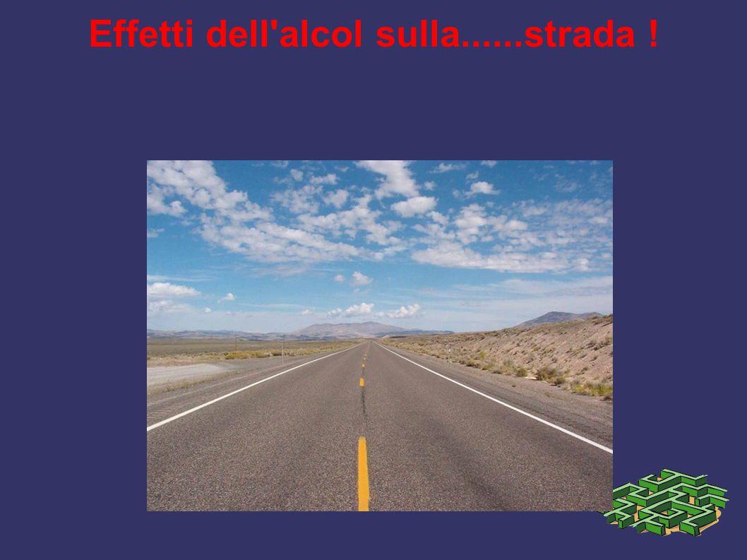 Effetti dell alcol sulla......strada !