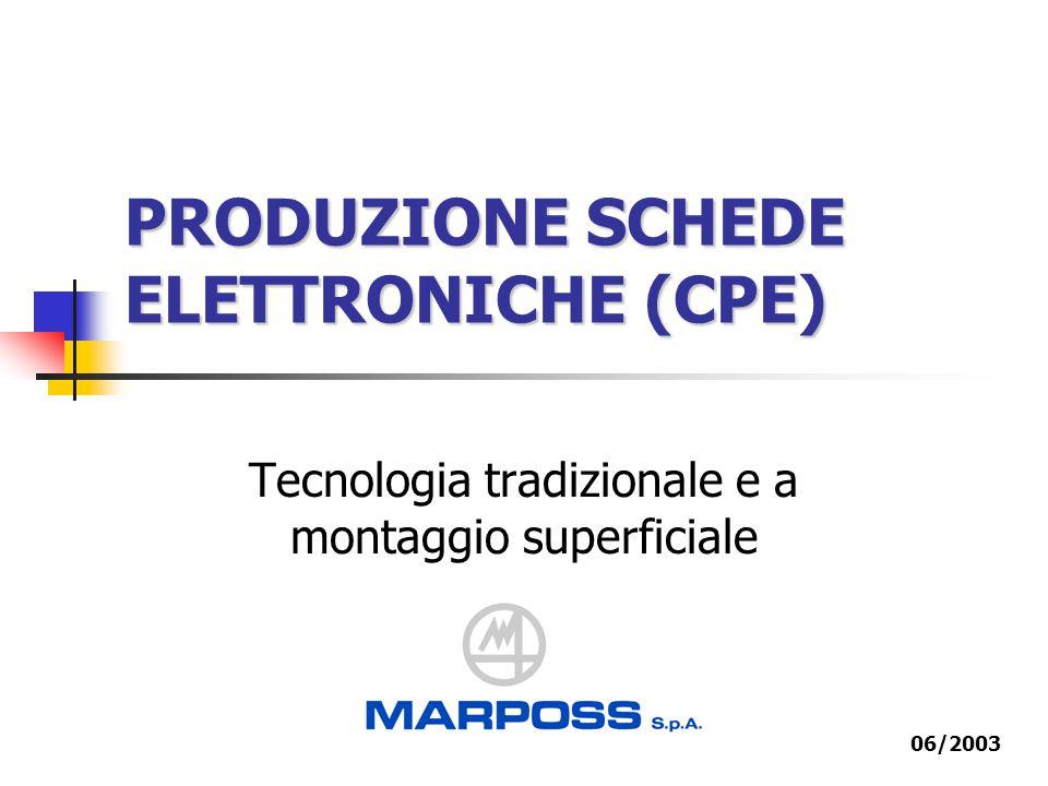 PRODUZIONE SCHEDE ELETTRONICHE (CPE)