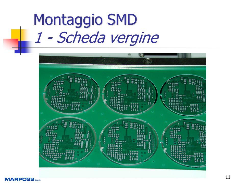 Montaggio SMD 1 - Scheda vergine