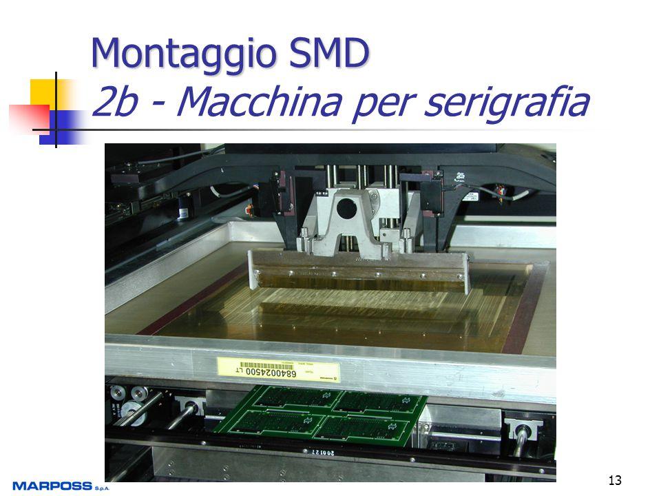 Montaggio SMD 2b - Macchina per serigrafia