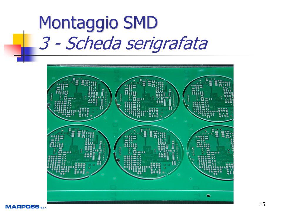 Montaggio SMD 3 - Scheda serigrafata