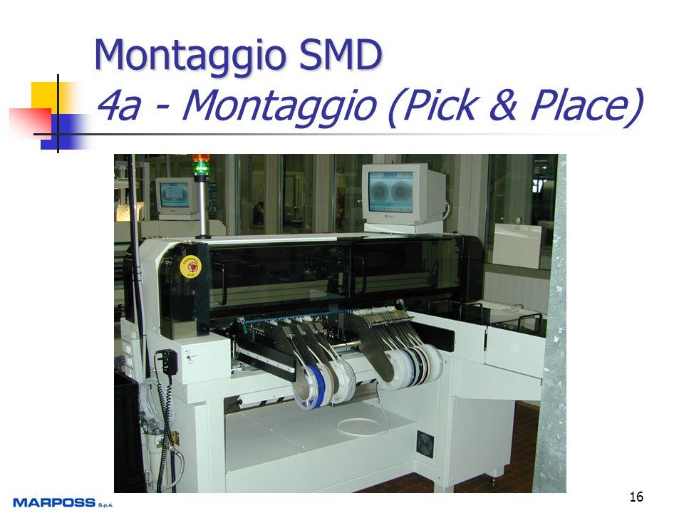 Montaggio SMD 4a - Montaggio (Pick & Place)