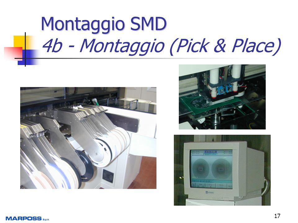 Montaggio SMD 4b - Montaggio (Pick & Place)