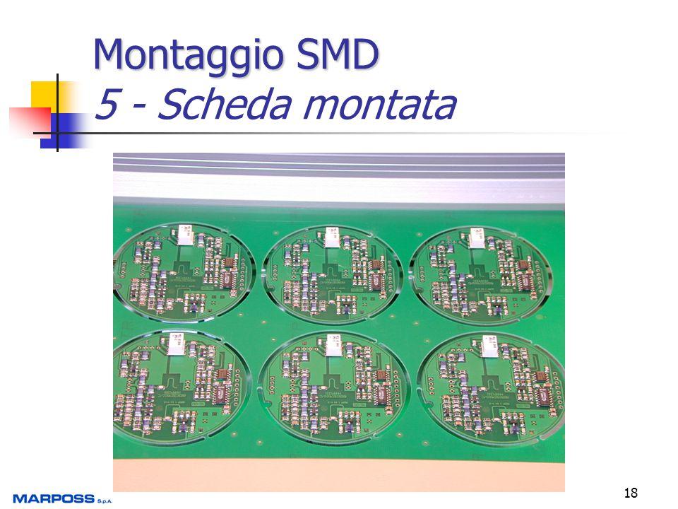 Montaggio SMD 5 - Scheda montata