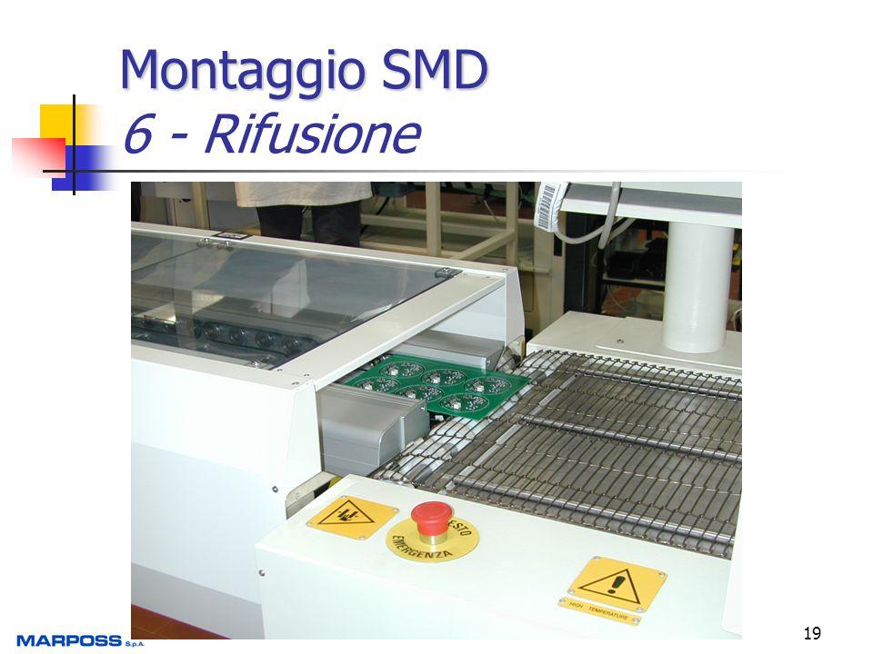 Montaggio SMD 6 - Rifusione