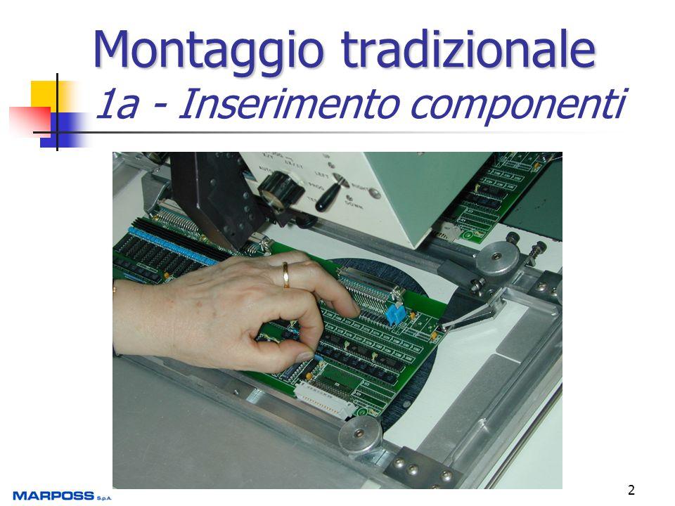 Montaggio tradizionale 1a - Inserimento componenti