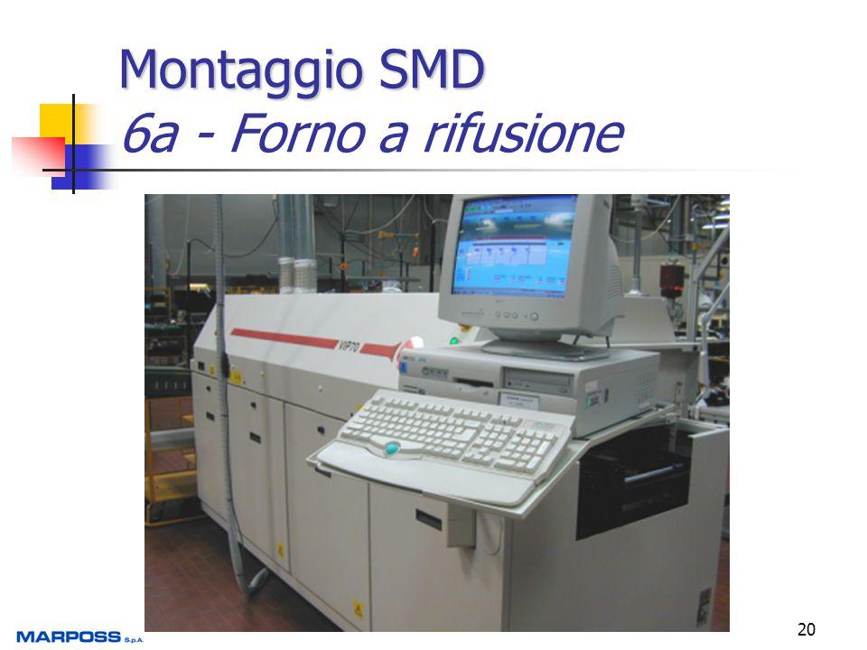 Montaggio SMD 6a - Forno a rifusione