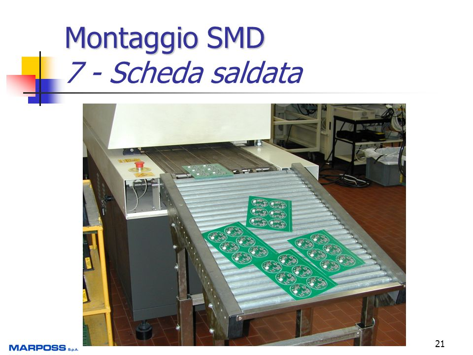Montaggio SMD 7 - Scheda saldata