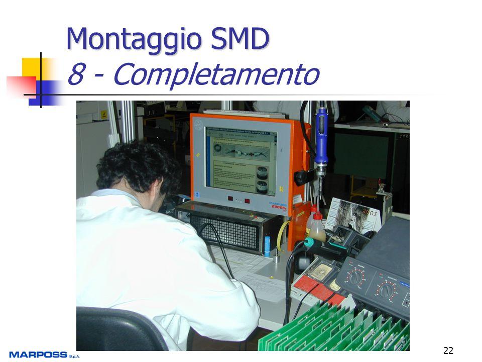 Montaggio SMD 8 - Completamento