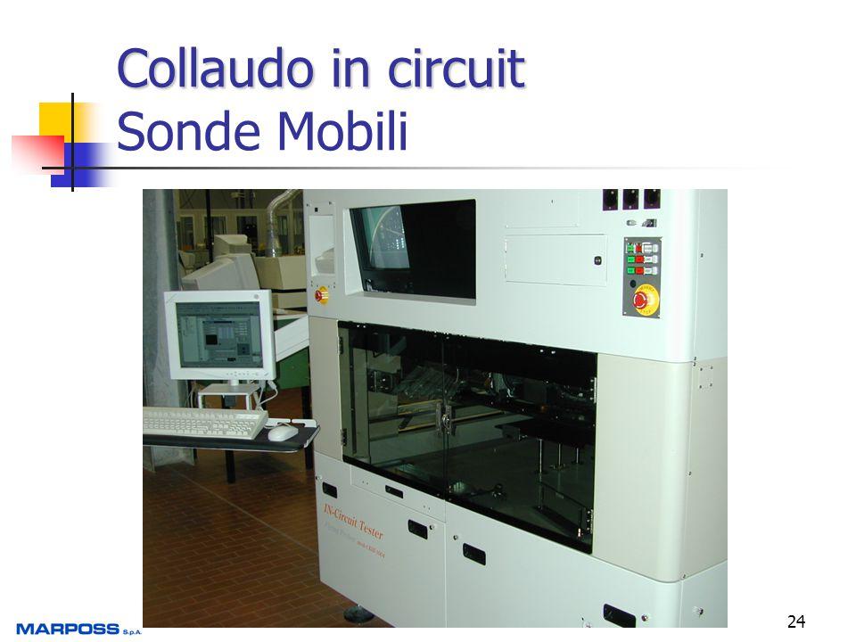 Collaudo in circuit Sonde Mobili