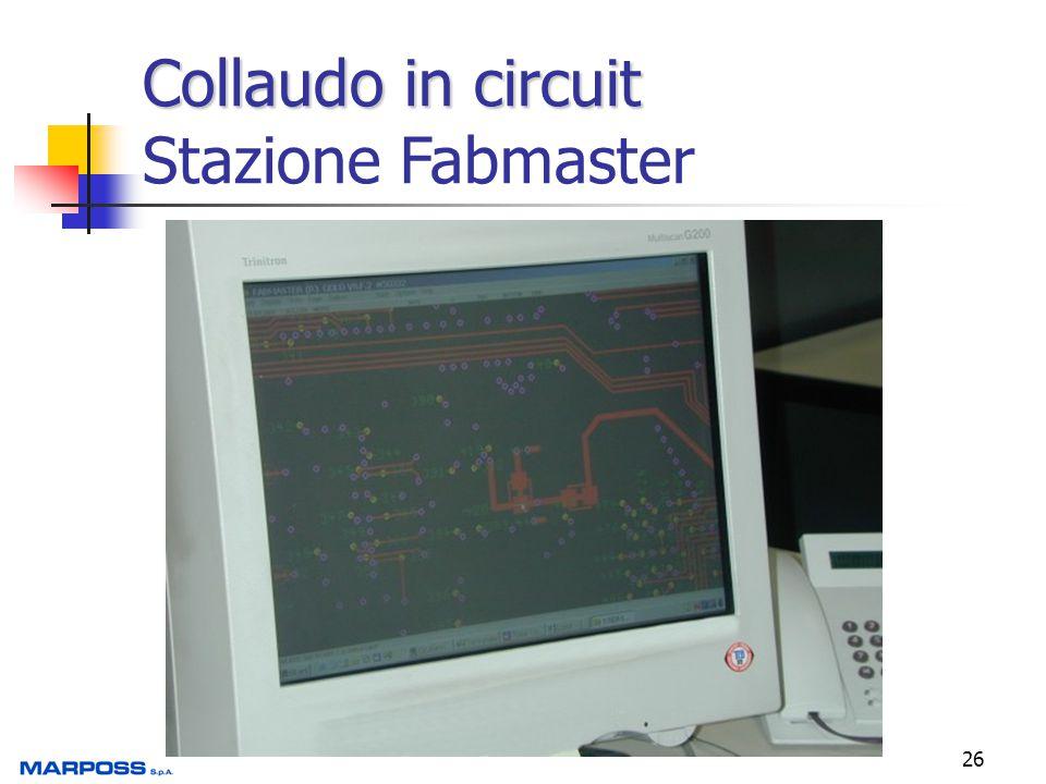 Collaudo in circuit Stazione Fabmaster