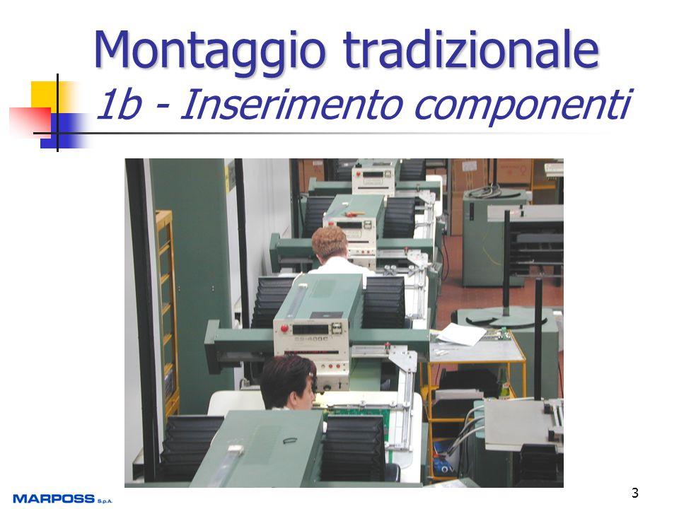 Montaggio tradizionale 1b - Inserimento componenti