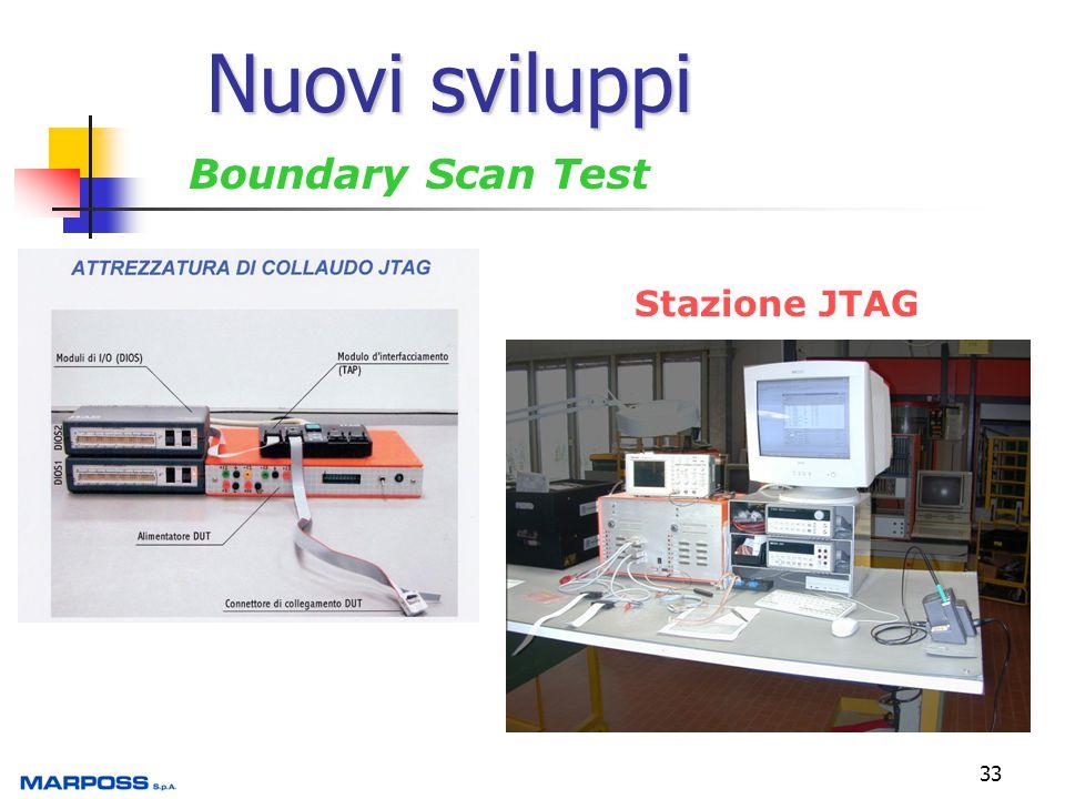 Nuovi sviluppi Boundary Scan Test Stazione JTAG