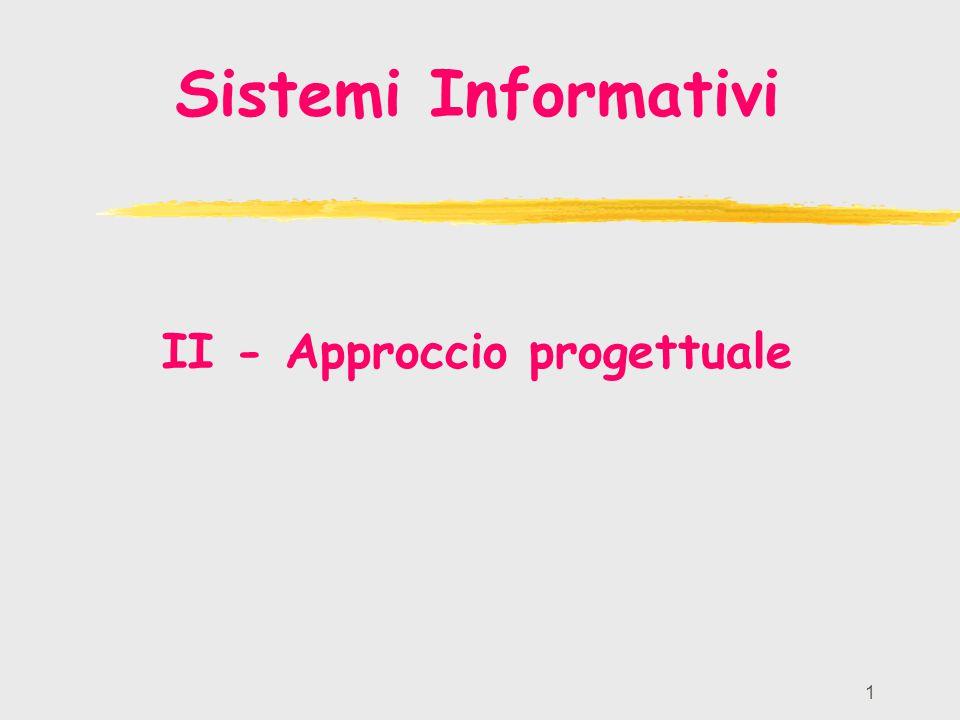 II - Approccio progettuale