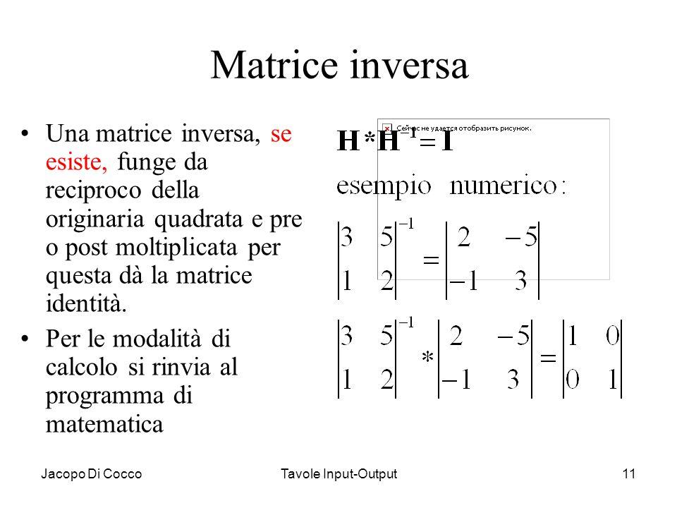 Matrice inversa