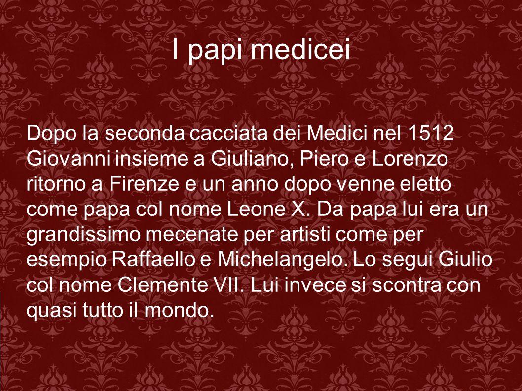 I papi medicei