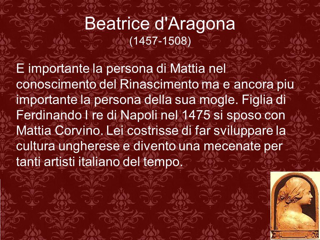 Beatrice d Aragona (1457-1508)