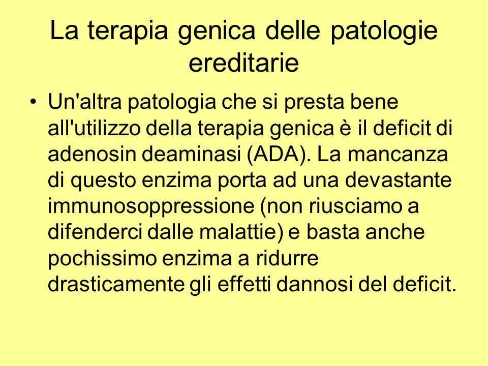La terapia genica delle patologie ereditarie
