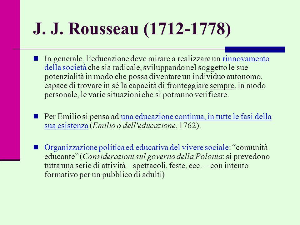 J. J. Rousseau (1712-1778)