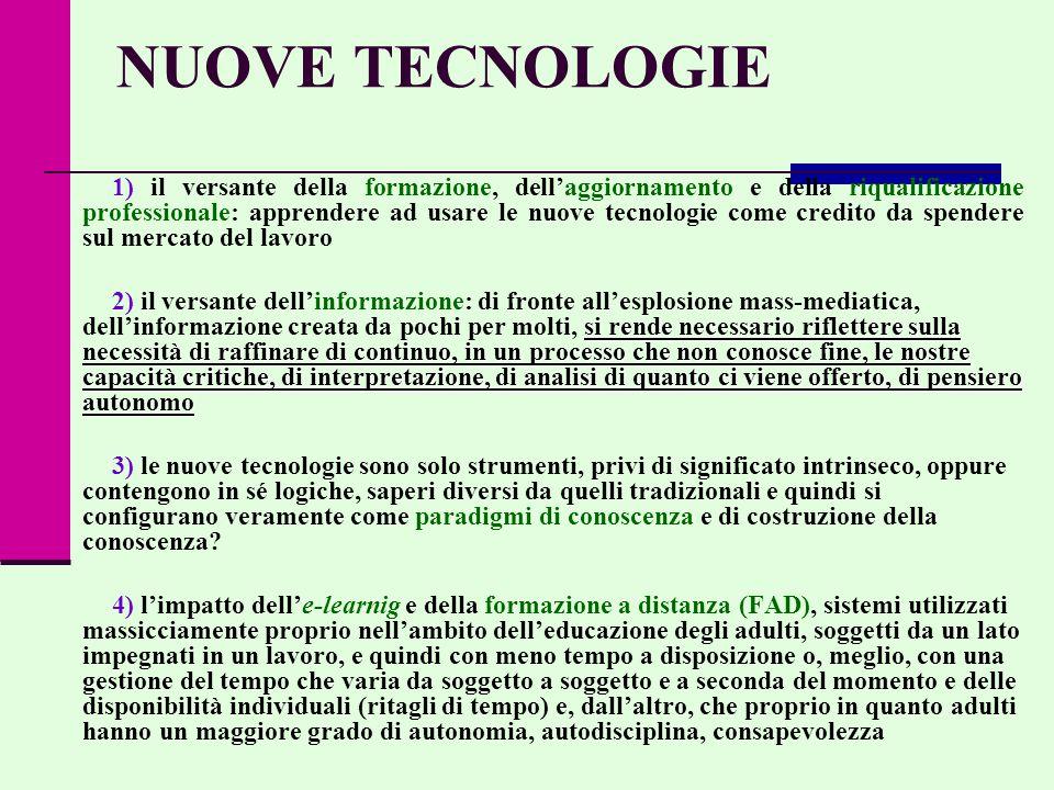 NUOVE TECNOLOGIE