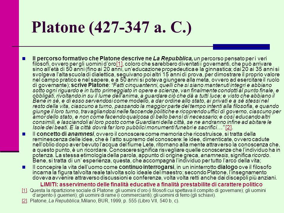 Platone (427-347 a. C.)