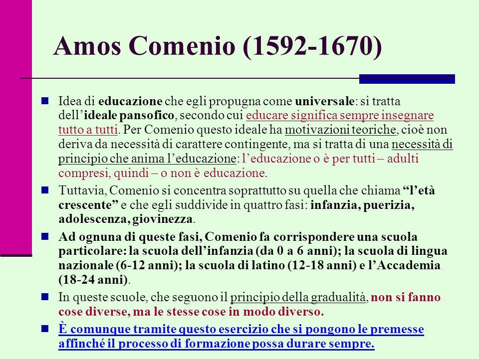 Amos Comenio (1592-1670)