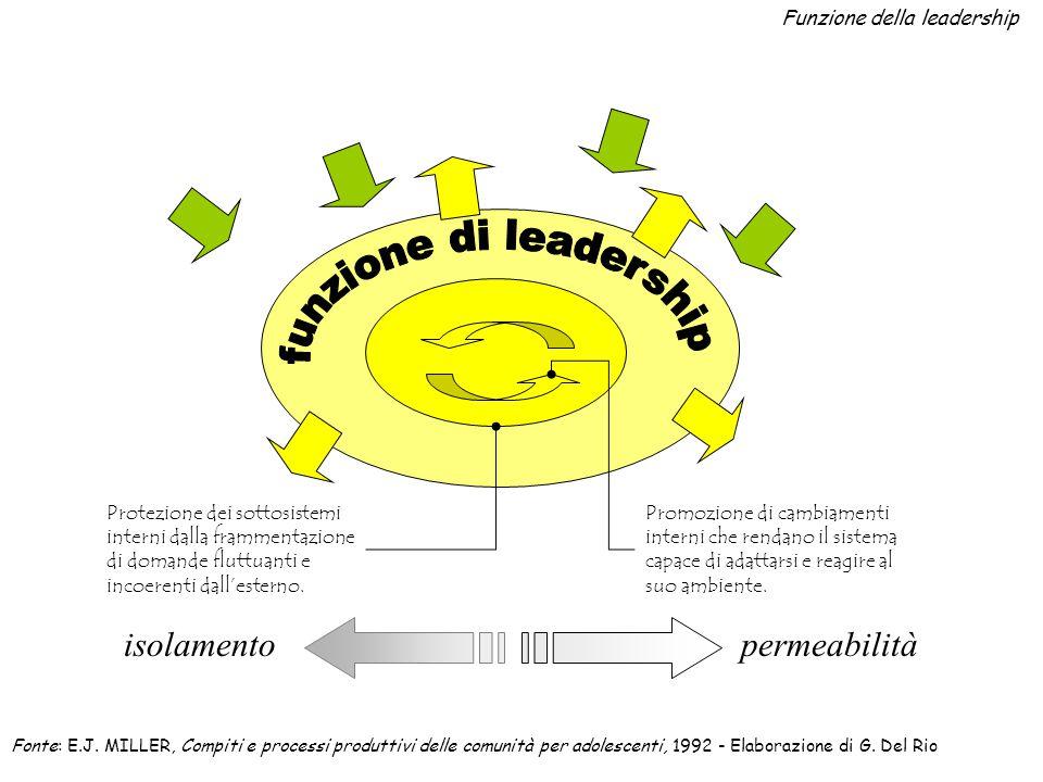 Funzione della leadership
