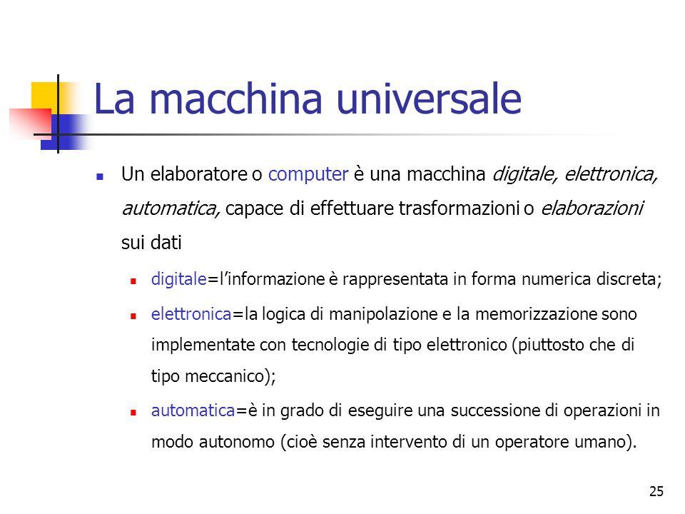 La macchina universale