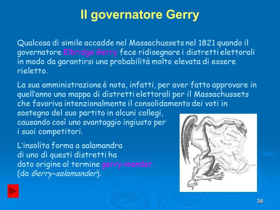 Il governatore Gerry