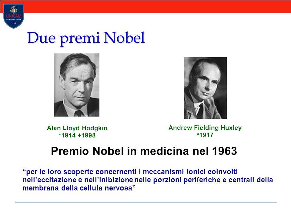 Andrew Fielding Huxley Premio Nobel in medicina nel 1963