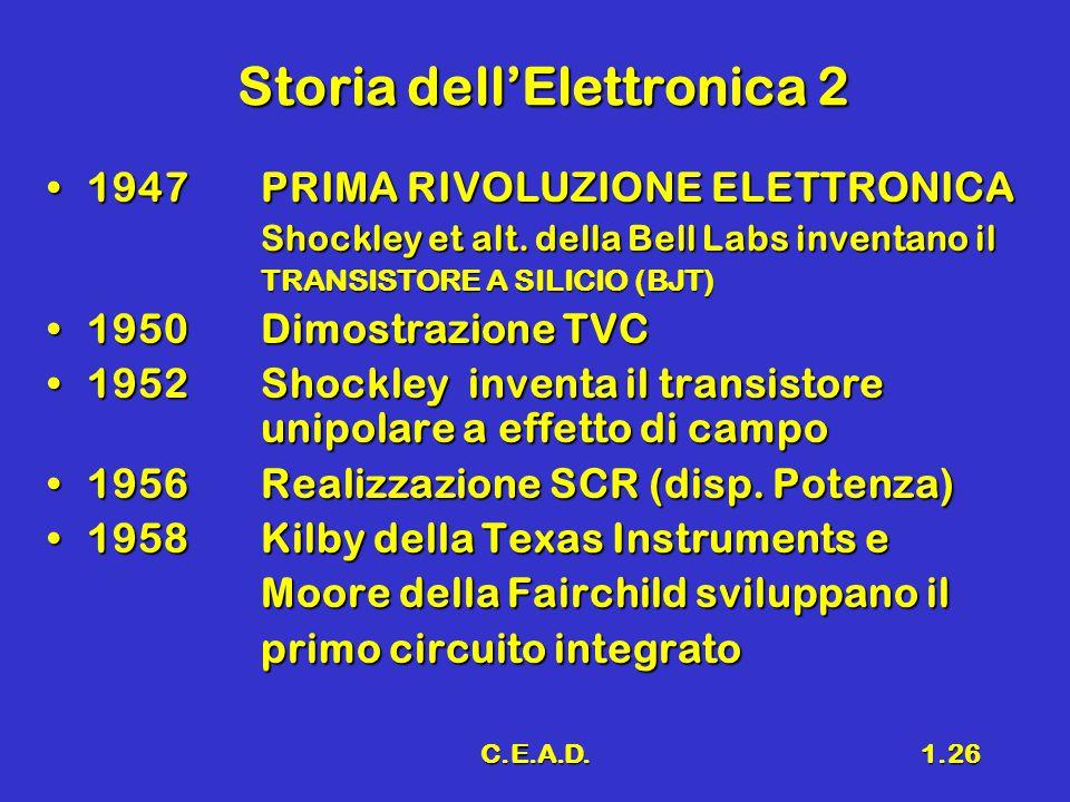 Storia dell'Elettronica 2