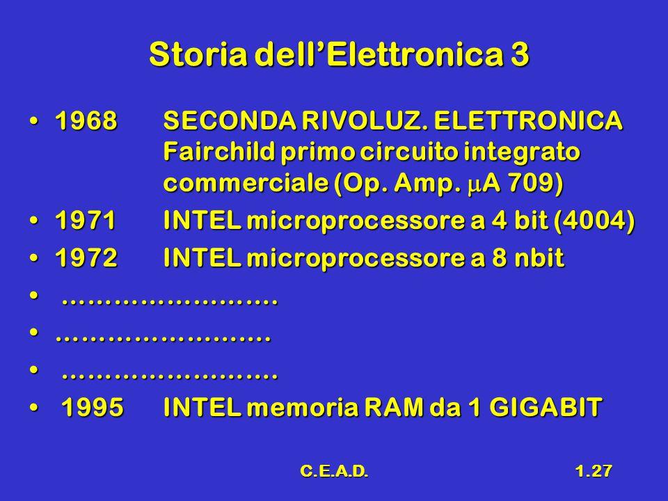 Storia dell'Elettronica 3
