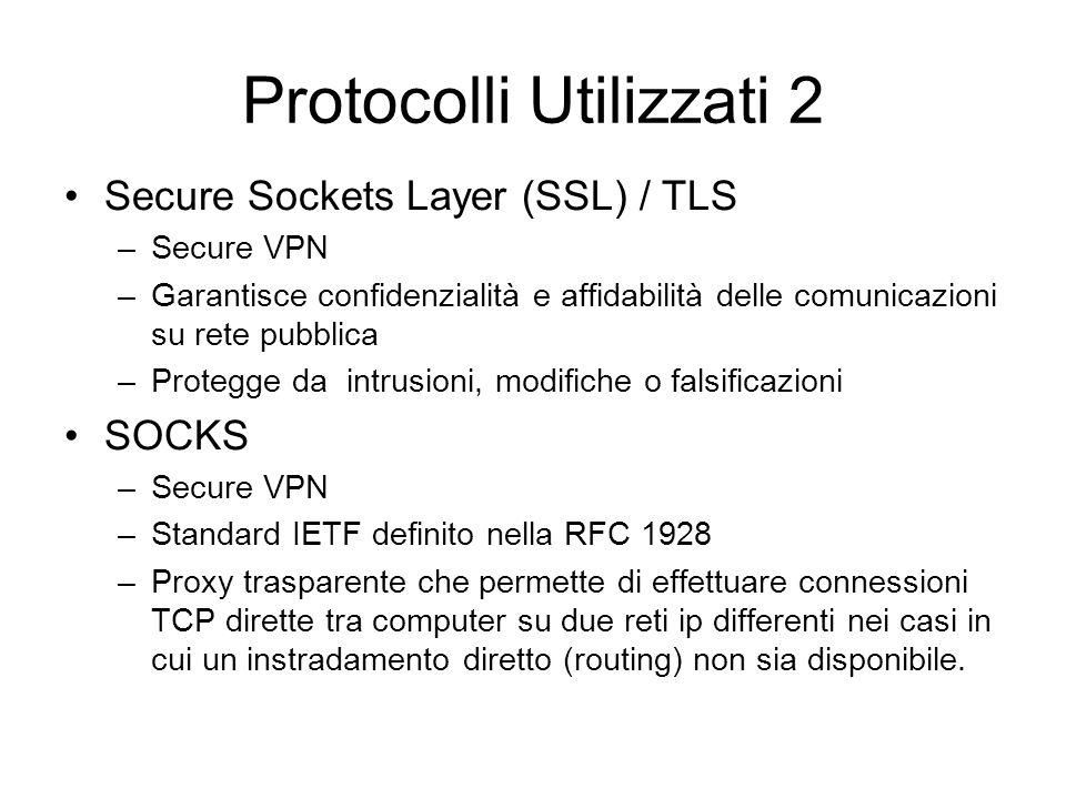 Protocolli Utilizzati 2