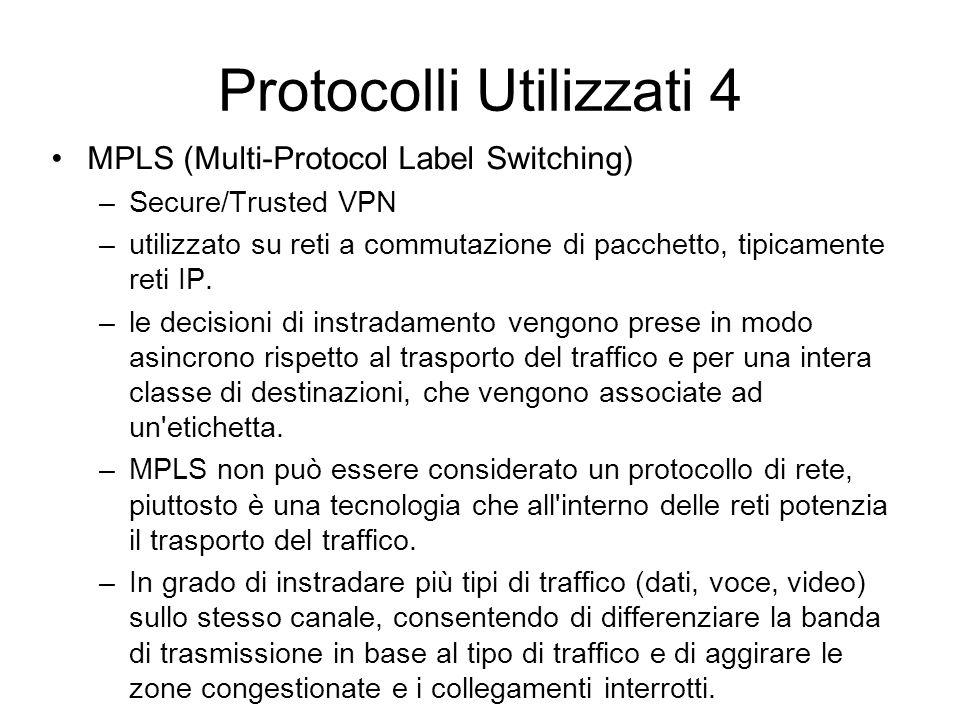 Protocolli Utilizzati 4