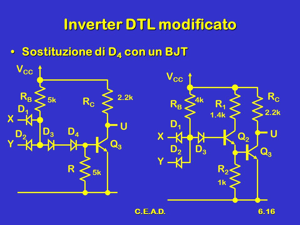 Inverter DTL modificato