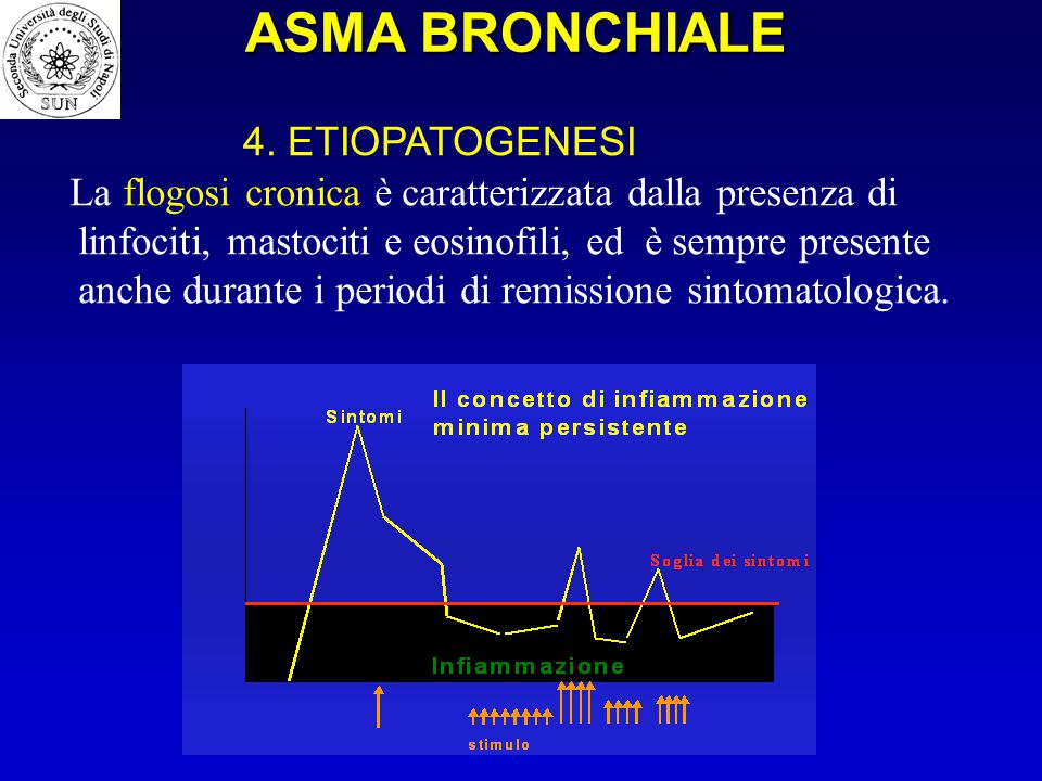 ASMA BRONCHIALE 4. ETIOPATOGENESI