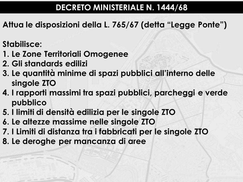 DECRETO MINISTERIALE N. 1444/68