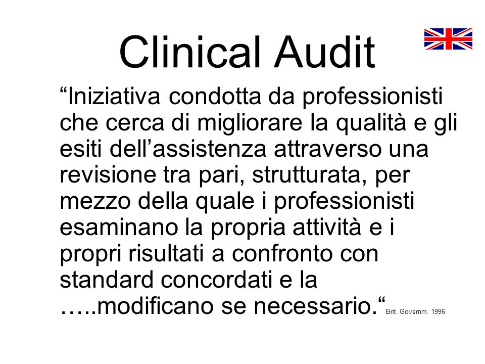 Clinical Audit